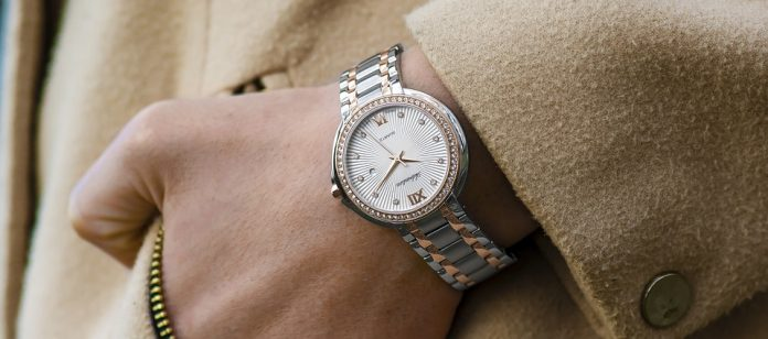 Елегантен ръчен часовник
