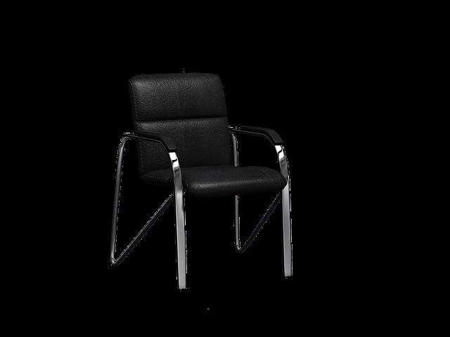 Почистване на метален стол