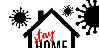 останете вкъщи